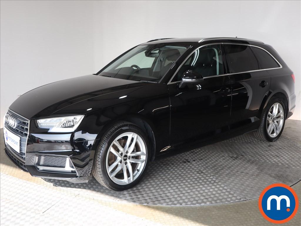 Audi A4 Sport - Stock Number 1133834 Passenger side front corner