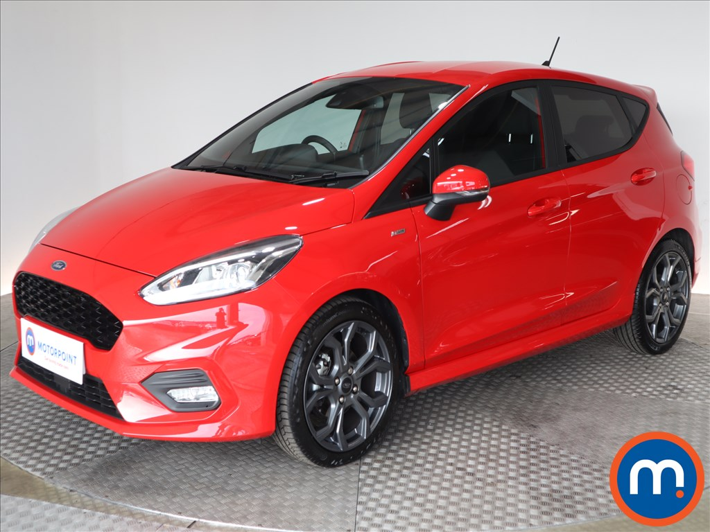 Ford Fiesta ST-Line Edition - Stock Number 1129403 Passenger side front corner