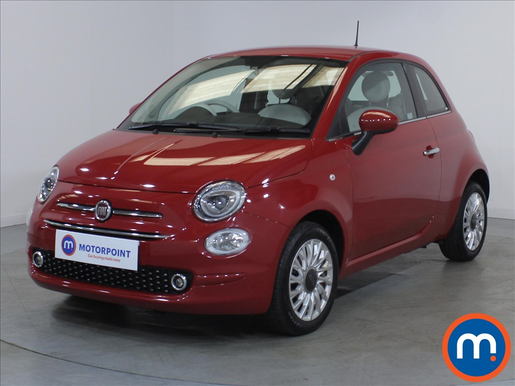 Fiat 500 Lounge - Stock Number 1130290 Passenger side front corner