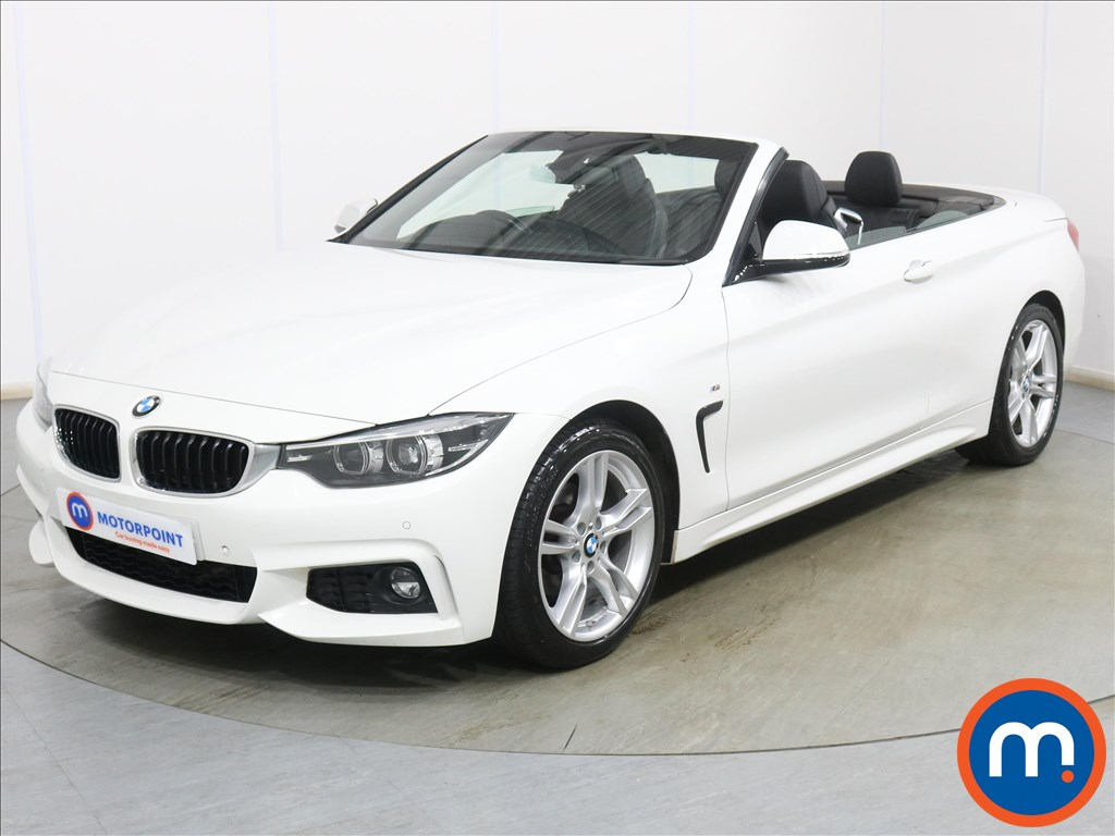 BMW 4 Series 420i M Sport 2dr Auto [Professional Media] - Stock Number 1136718 Passenger side front corner