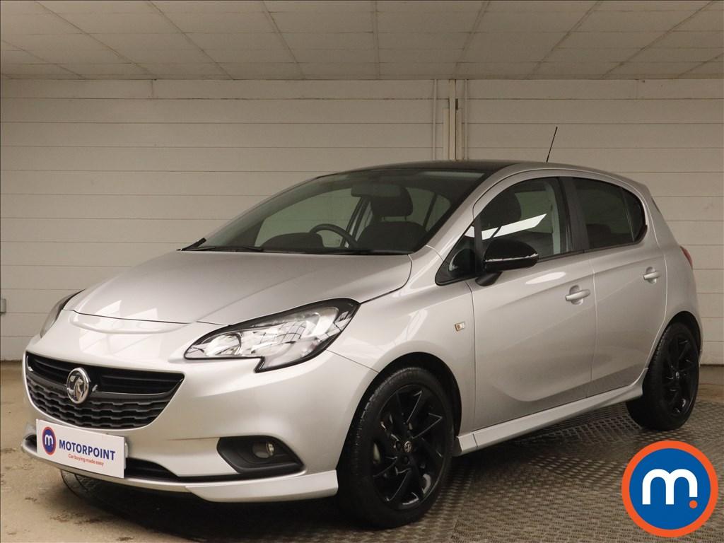 Vauxhall Corsa 1.4 SRi Vx-line Nav Black 5dr - Stock Number 1132273 Passenger side front corner