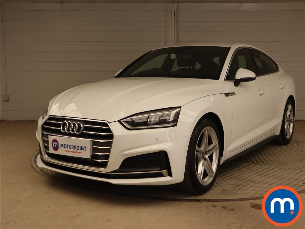 Audi A5 S Line - Stock Number 1134292 Passenger side front corner