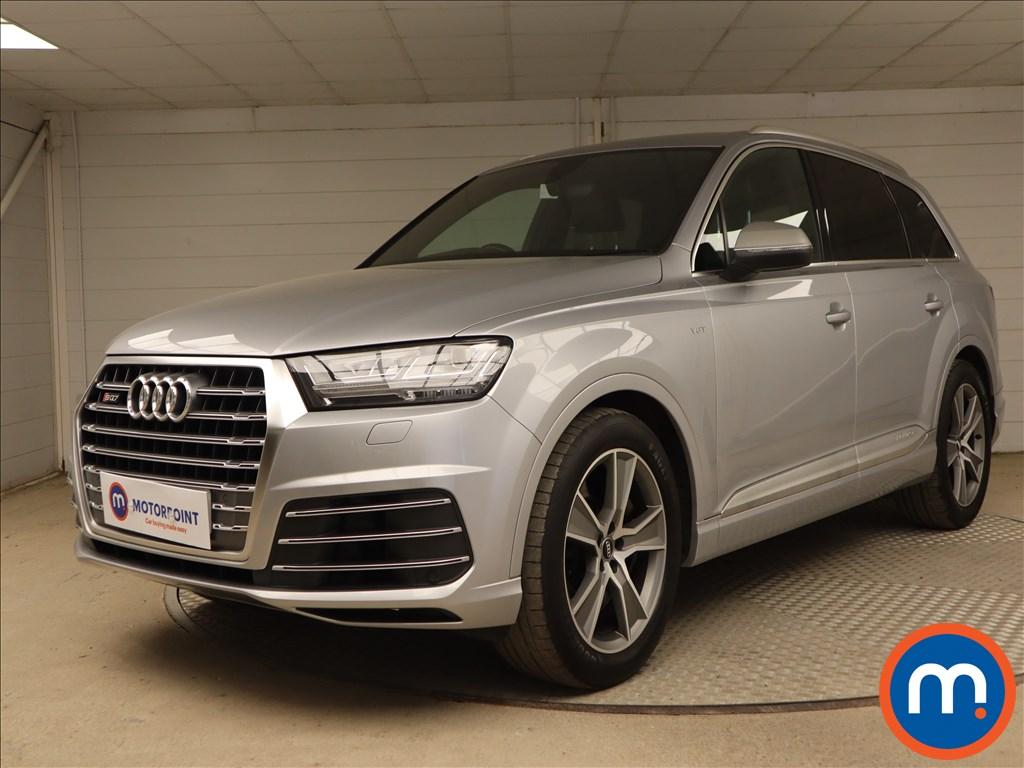 Audi Q7 SQ7 - Stock Number 1127936 Passenger side front corner