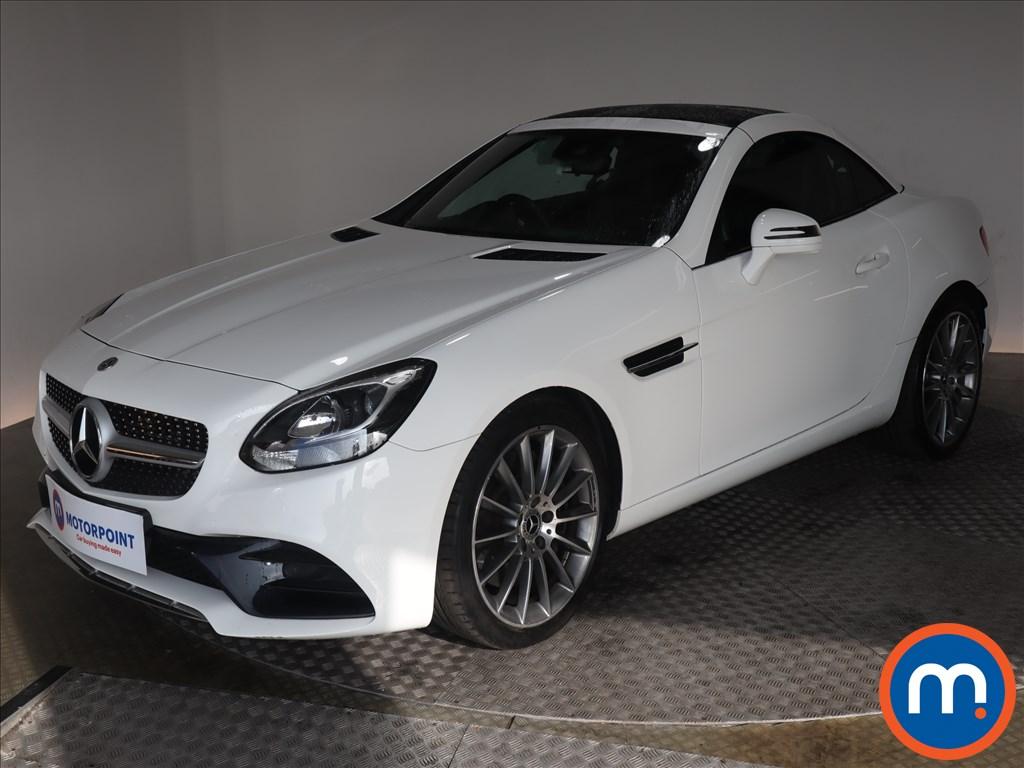 Mercedes-Benz SLC AMG Line - Stock Number 1133894 Passenger side front corner