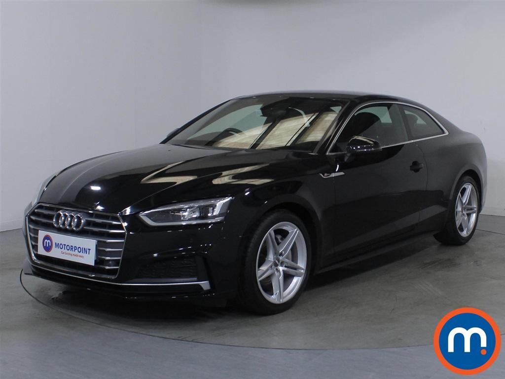 Audi A5 S Line - Stock Number 1132740 Passenger side front corner