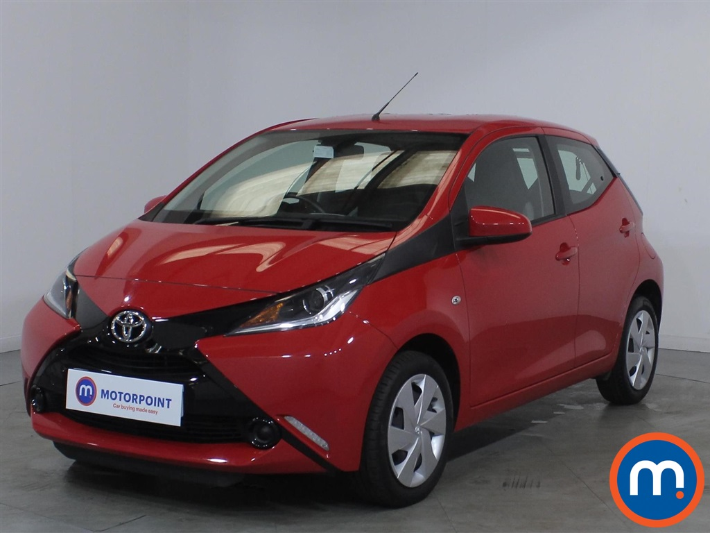 Toyota Aygo X-Play - Stock Number 1134812 Passenger side front corner