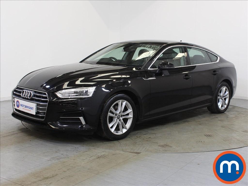 Audi A5 Sport - Stock Number 1131527 Passenger side front corner