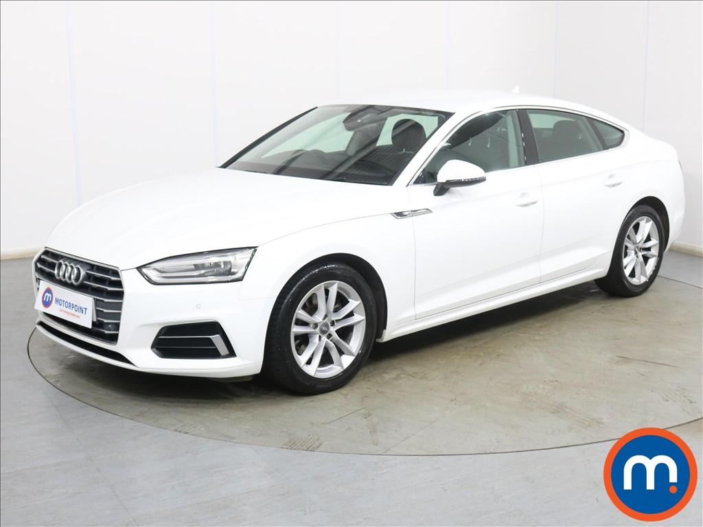 Audi A5 Sport - Stock Number 1134313 Passenger side front corner