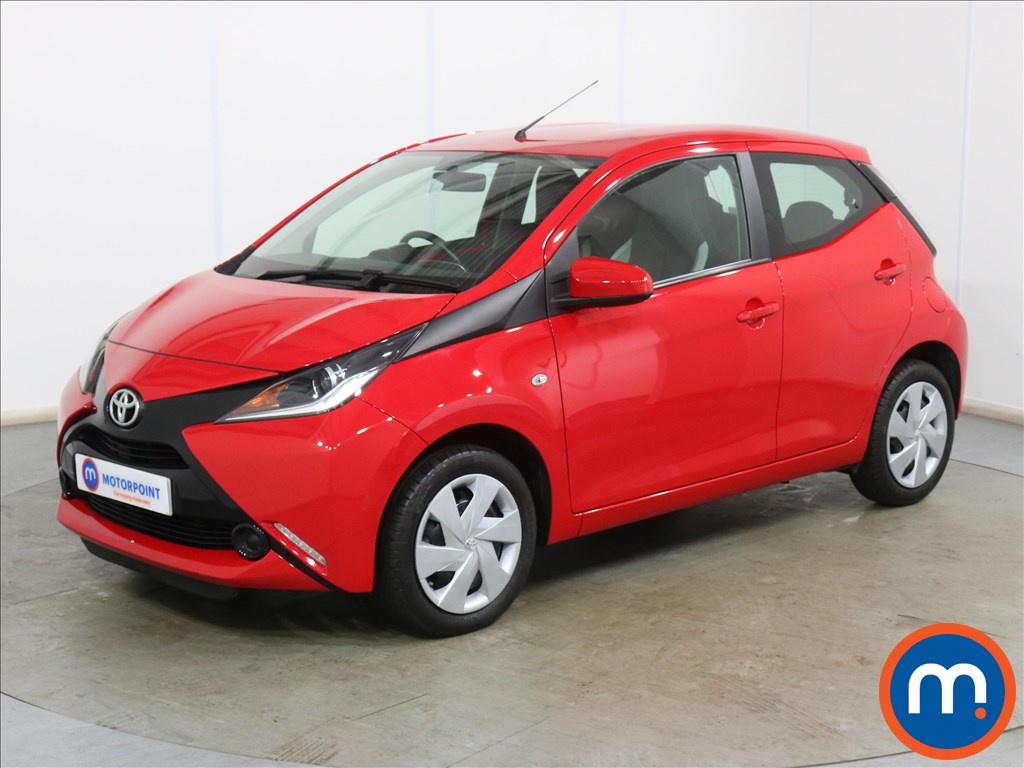 Toyota Aygo X-Play - Stock Number 1134809 Passenger side front corner
