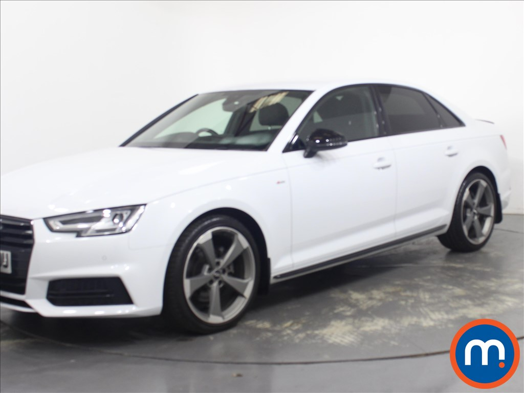 Audi A4 Black Edition - Stock Number 1134622 Passenger side front corner