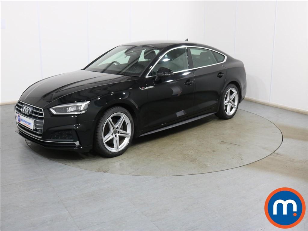 Audi A5 1.4 TFSI S Line 5dr S Tronic - Stock Number 1134343 Passenger side front corner