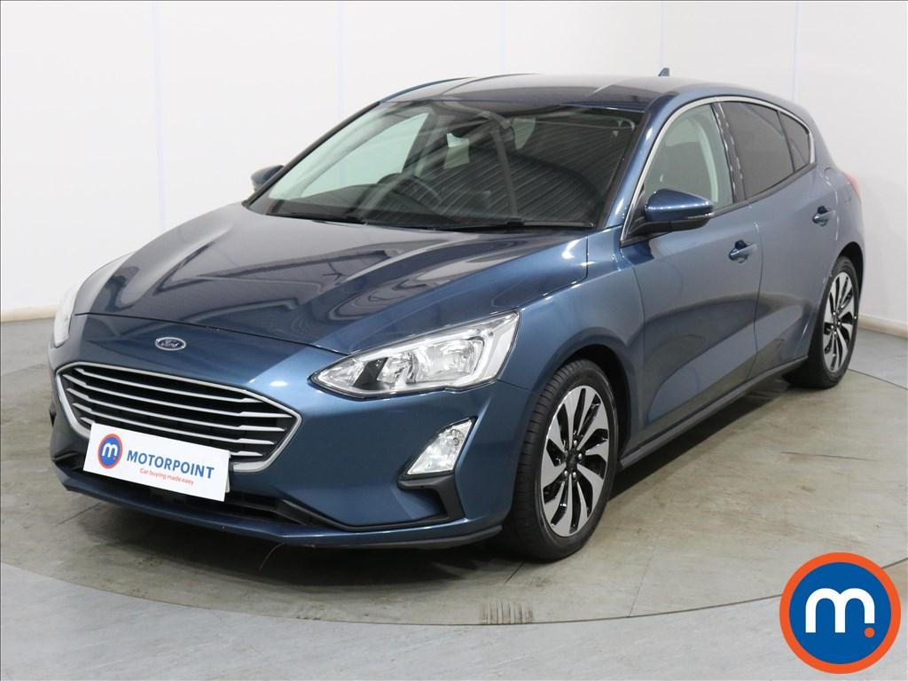 Ford Focus Zetec - Stock Number 1108333 Passenger side front corner