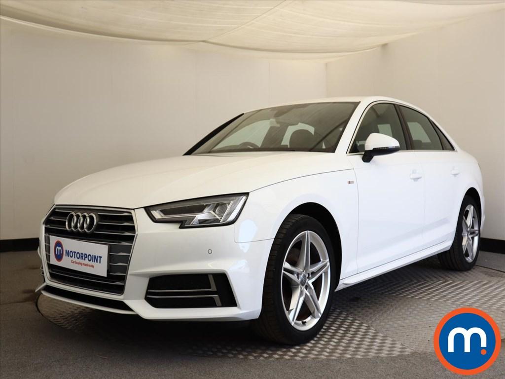 Audi A4 S Line - Stock Number 1136699 Passenger side front corner