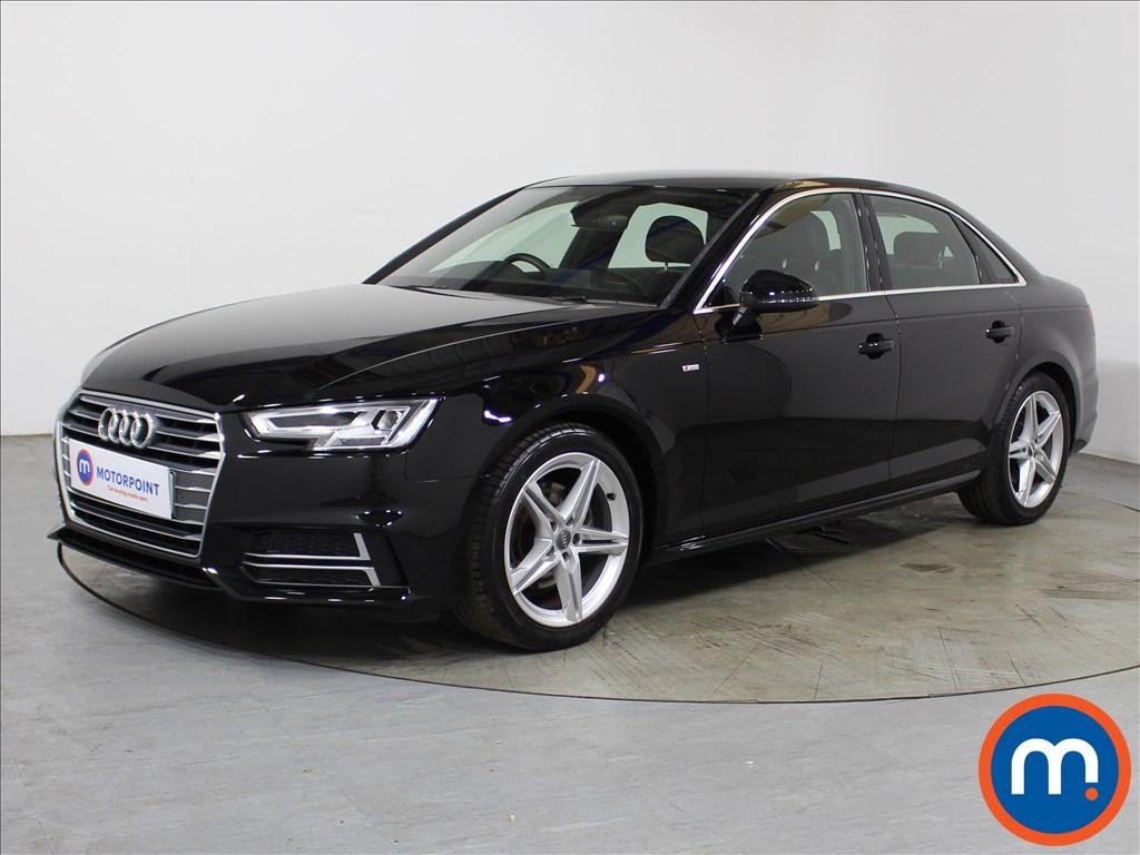 Audi A4 1.4T FSI S Line 4dr [Leather-Alc] - Stock Number 1135439 Passenger side front corner
