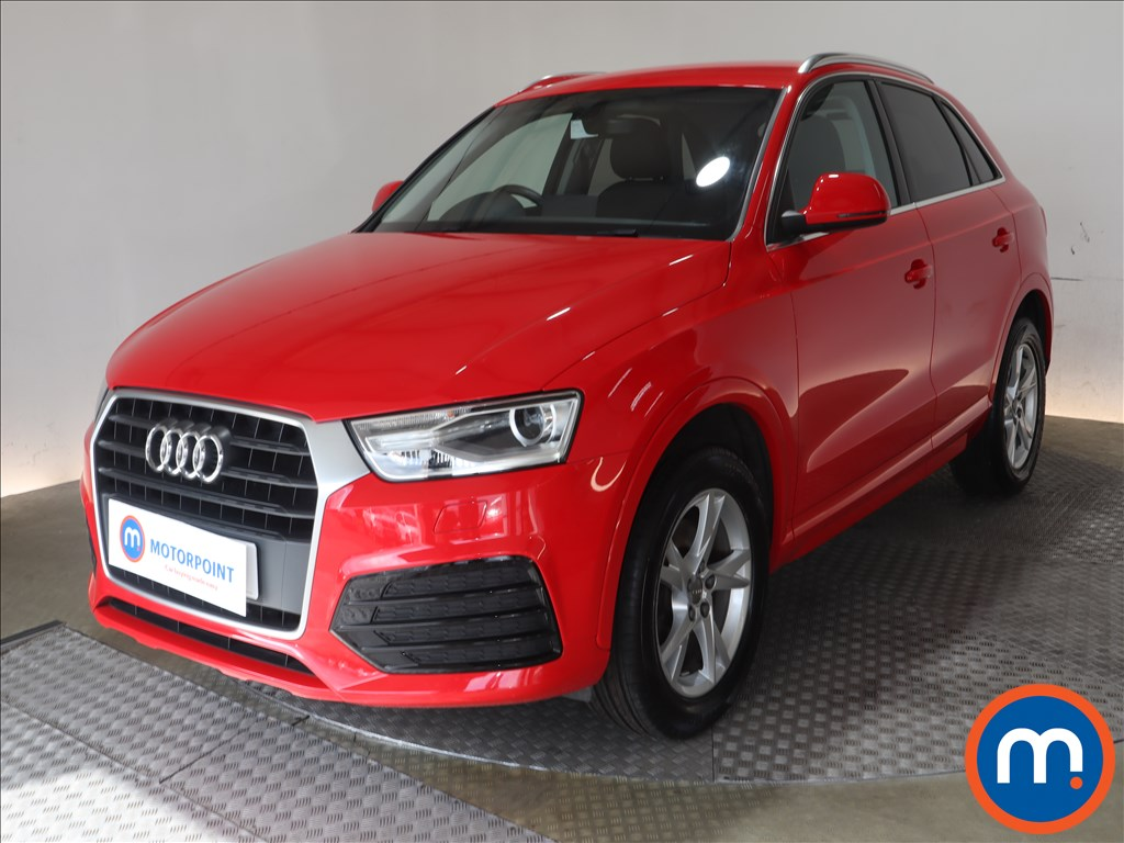 Audi Q3 Sport - Stock Number 1135751 Passenger side front corner