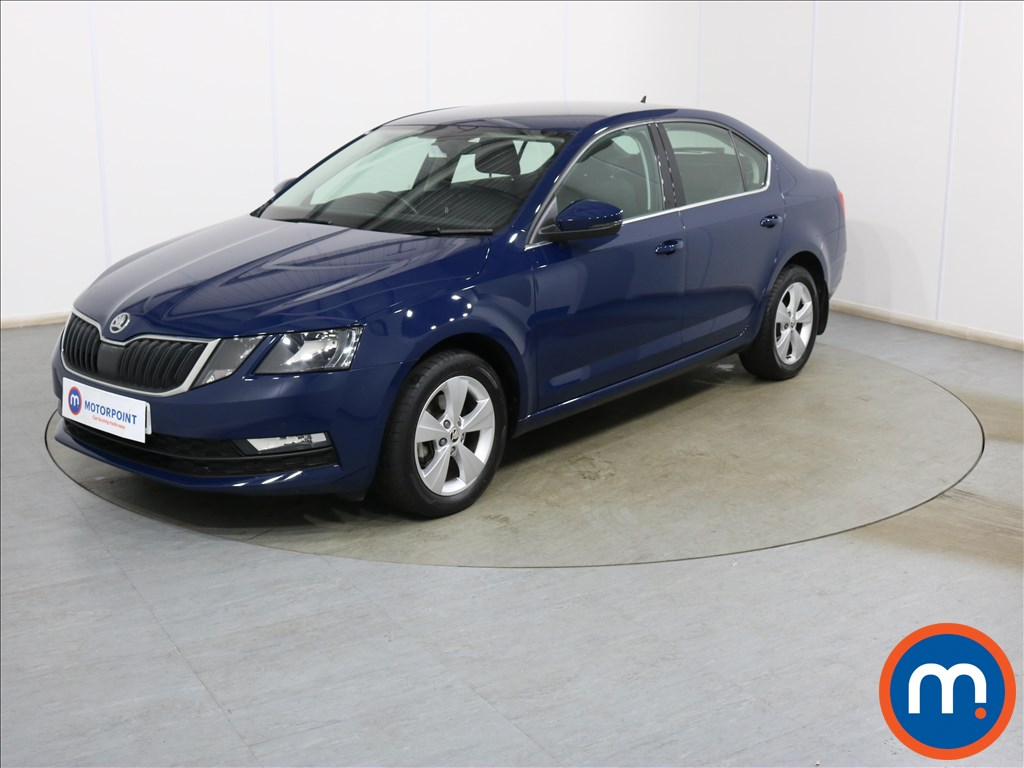Skoda Octavia SE Technology - Stock Number 1135844 Passenger side front corner
