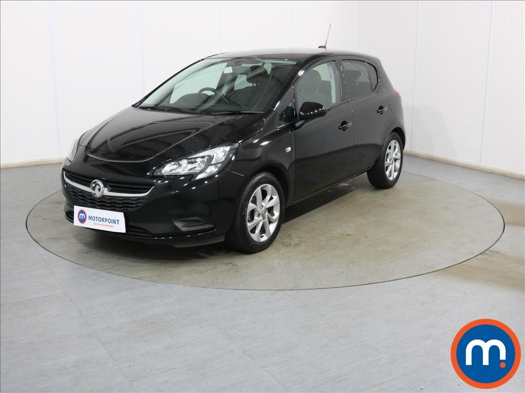 Vauxhall Corsa Sport - Stock Number 1130449 Passenger side front corner