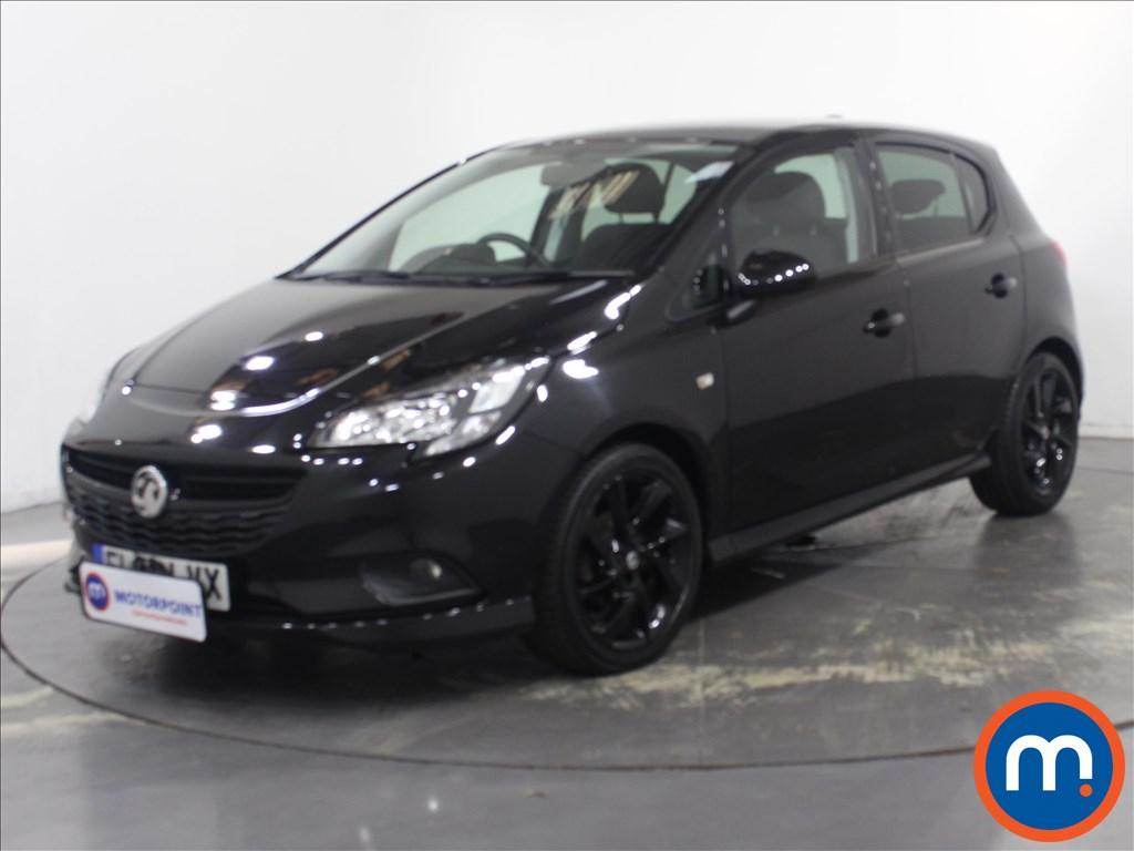 Vauxhall Corsa 1.4 SRi Vx-line Nav Black 5dr - Stock Number 1132232 Passenger side front corner
