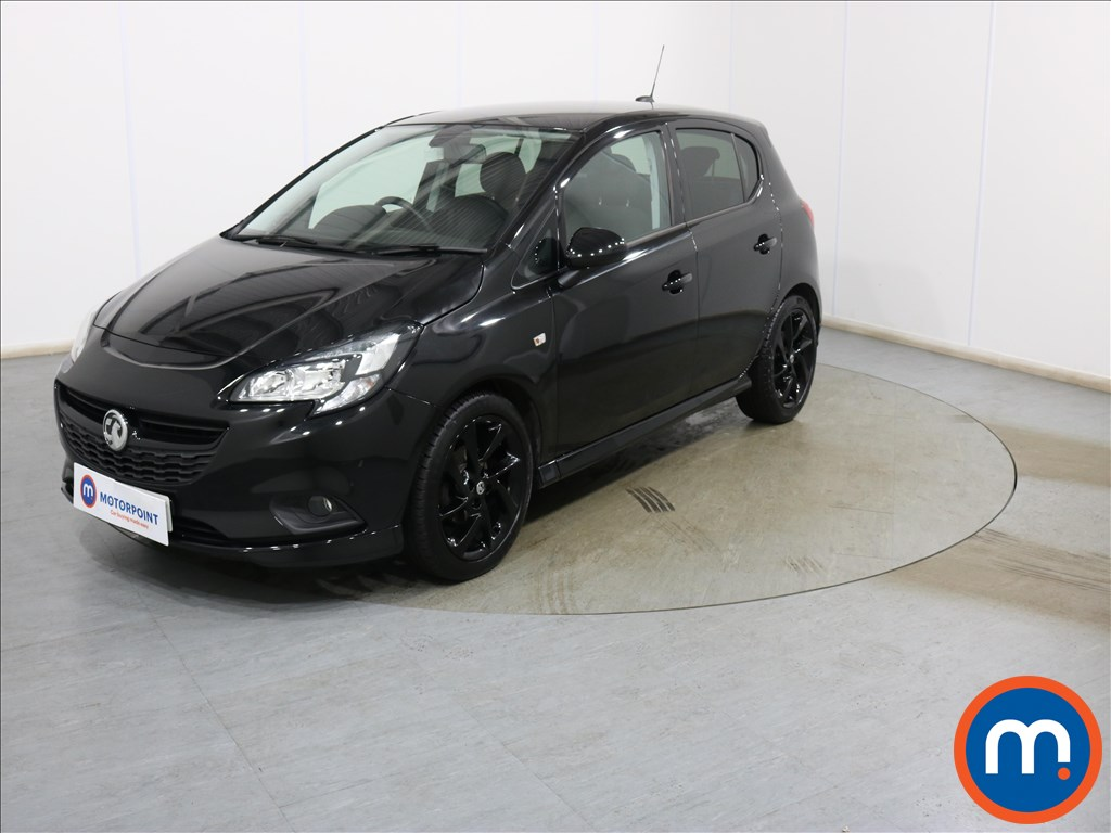 Vauxhall Corsa SRi Vx-line Nav Black - Stock Number 1136332 Passenger side front corner