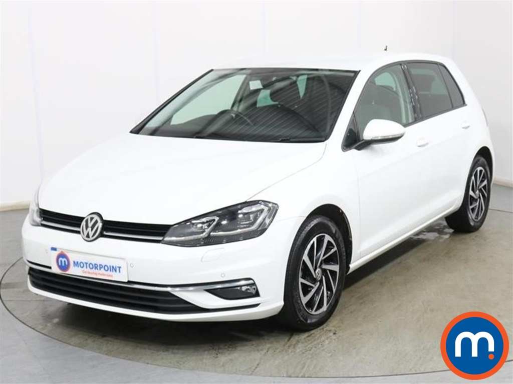 Volkswagen Golf Match Edition - Stock Number 1136555 Passenger side front corner
