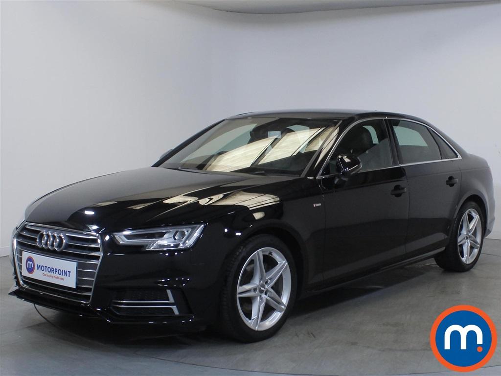 Audi A4 S Line - Stock Number 1135694 Passenger side front corner