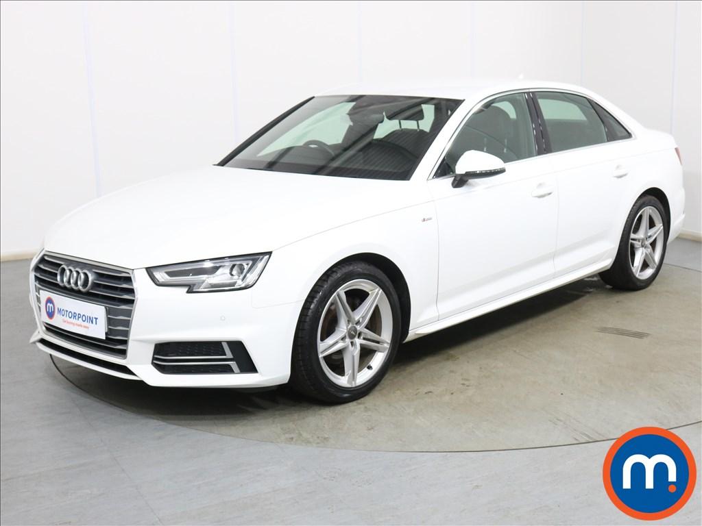 Audi A4 S Line - Stock Number 1132491 Passenger side front corner