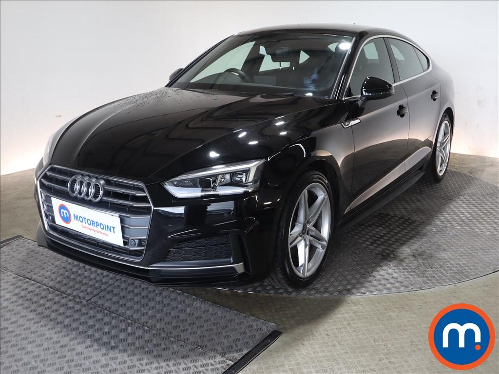 Audi A5 S Line - Stock Number 1132798 Passenger side front corner
