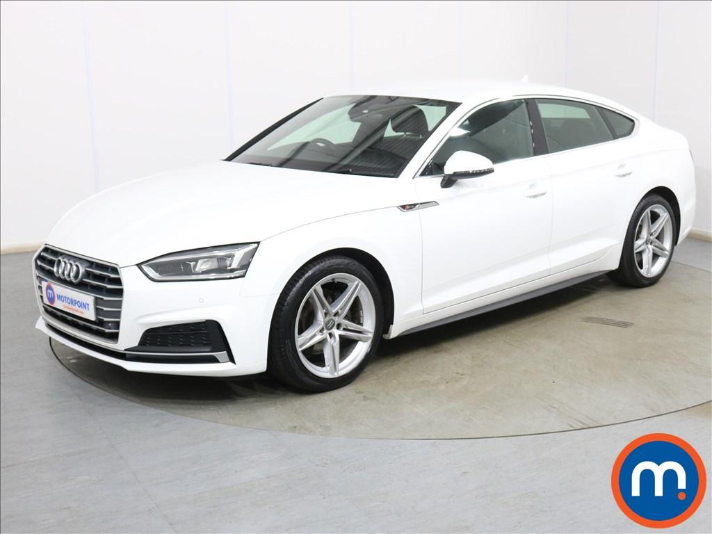 Audi A5 S Line - Stock Number 1134337 Passenger side front corner