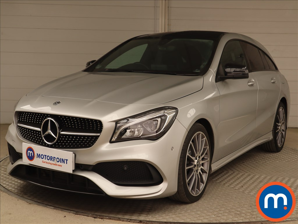 Mercedes-Benz CLA AMG Line - Stock Number 1133633 Passenger side front corner
