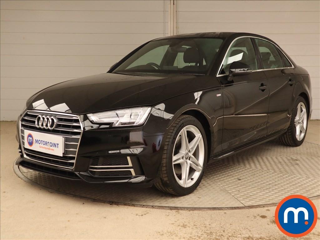 Audi A4 S Line - Stock Number 1132440 Passenger side front corner