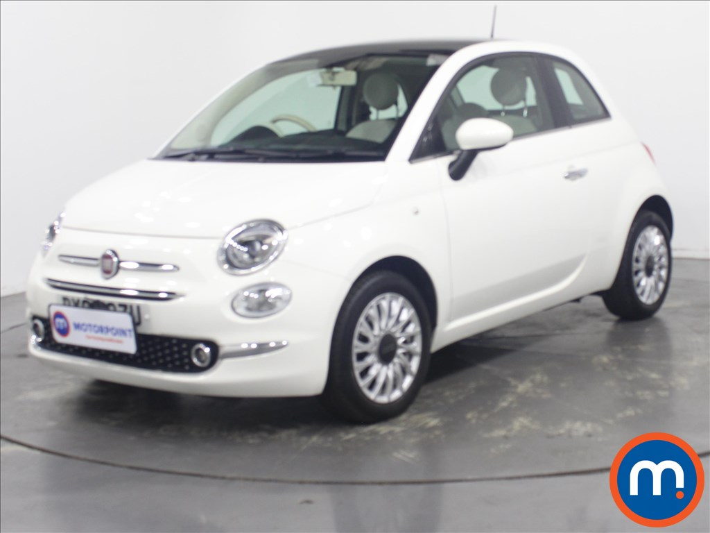 Fiat 500 Lounge - Stock Number 1135630 Passenger side front corner