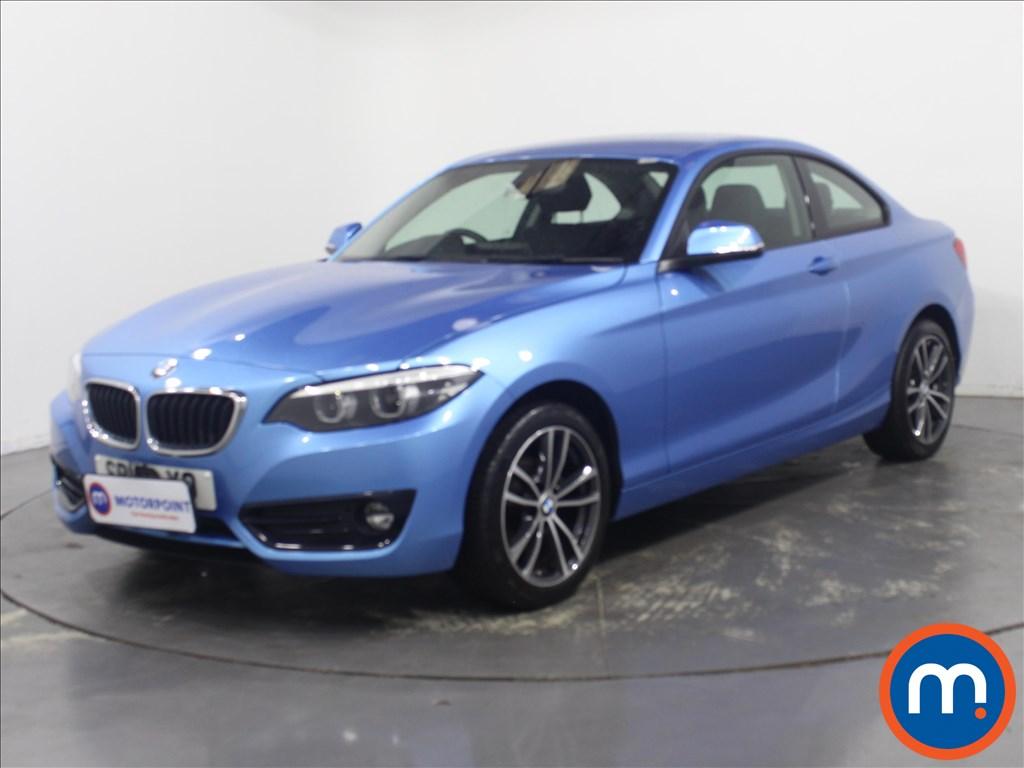 BMW 2 Series Sport - Stock Number 1128826 Passenger side front corner