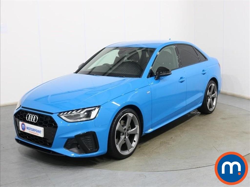 Audi A4 Black Edition - Stock Number 1136651 Passenger side front corner