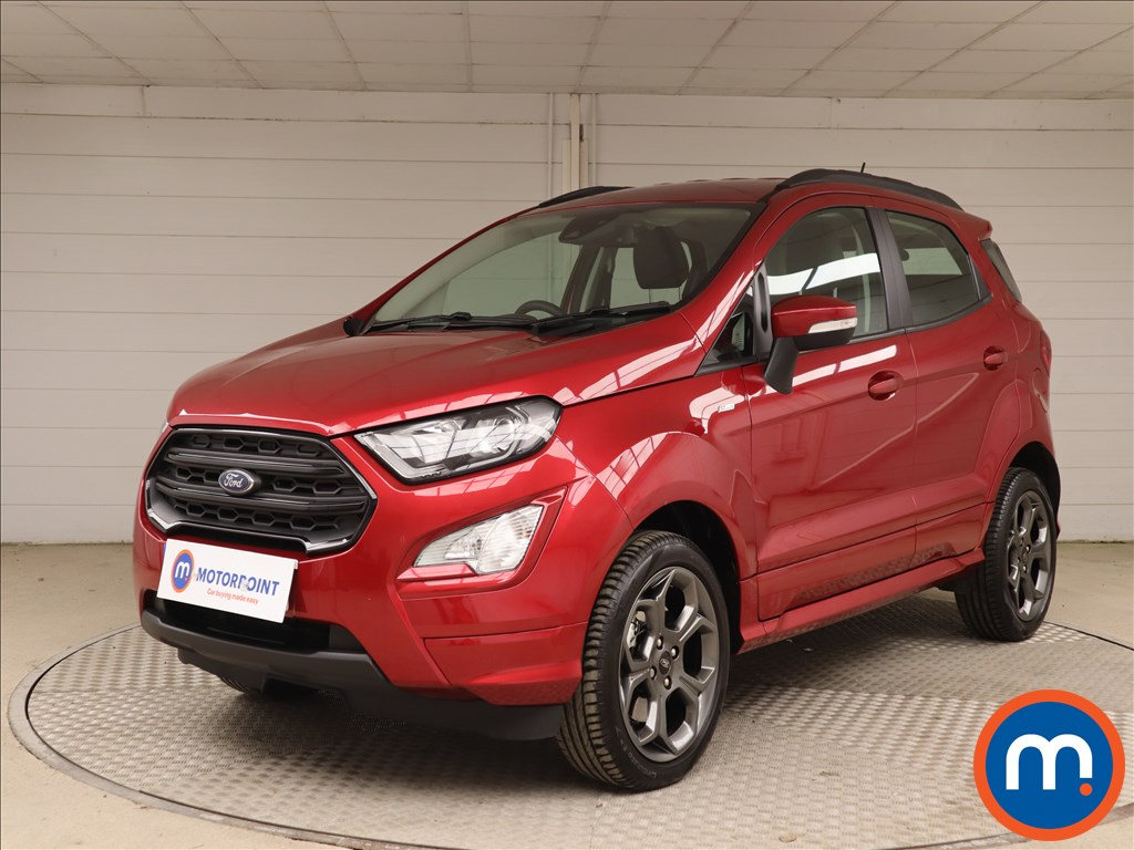 Ford Ecosport 1.0 EcoBoost 125 ST-Line 5dr - Stock Number 1136348 Passenger side front corner