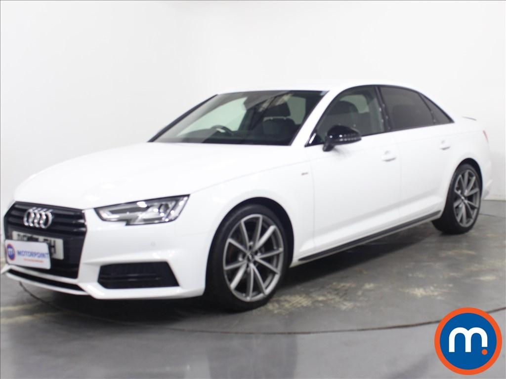 Audi A4 Black Edition - Stock Number 1132780 Passenger side front corner