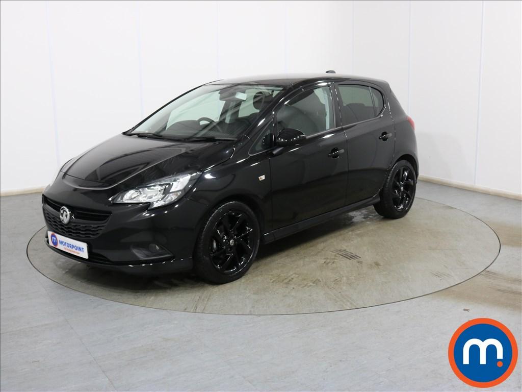 Vauxhall Corsa SRi Vx-line Nav Black - Stock Number 1136306 Passenger side front corner