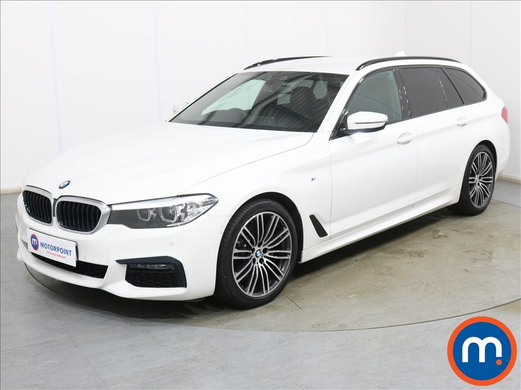 BMW 5 Series 520d M Sport 5dr Auto [Plus Pack] - Stock Number 1134027 Passenger side front corner