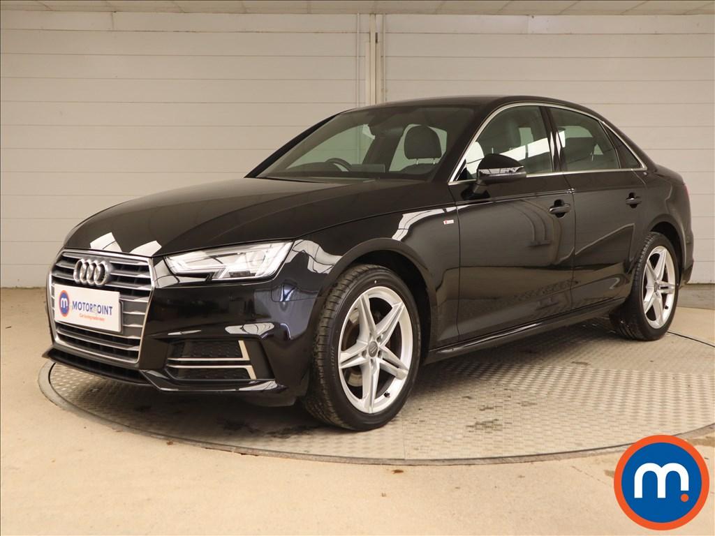 Audi A4 S Line - Stock Number 1135451 Passenger side front corner