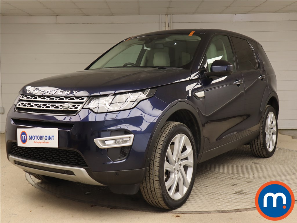 Land Rover Discovery Sport HSE Luxury - Stock Number 1136885 Passenger side front corner
