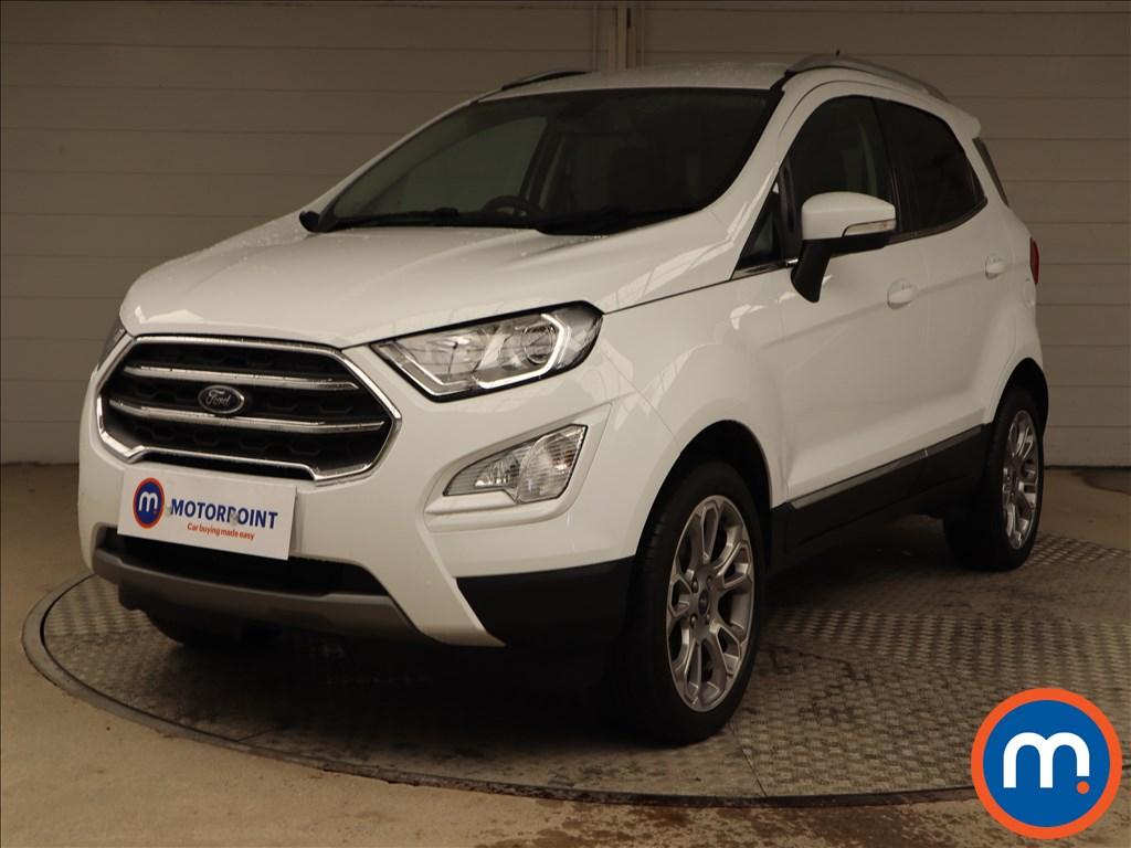 Ford Ecosport Titanium - Stock Number 1136271 Passenger side front corner