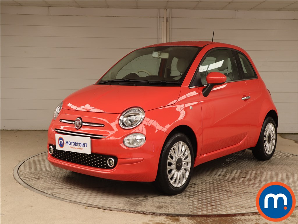 Fiat 500 Lounge - Stock Number 1130252 Passenger side front corner