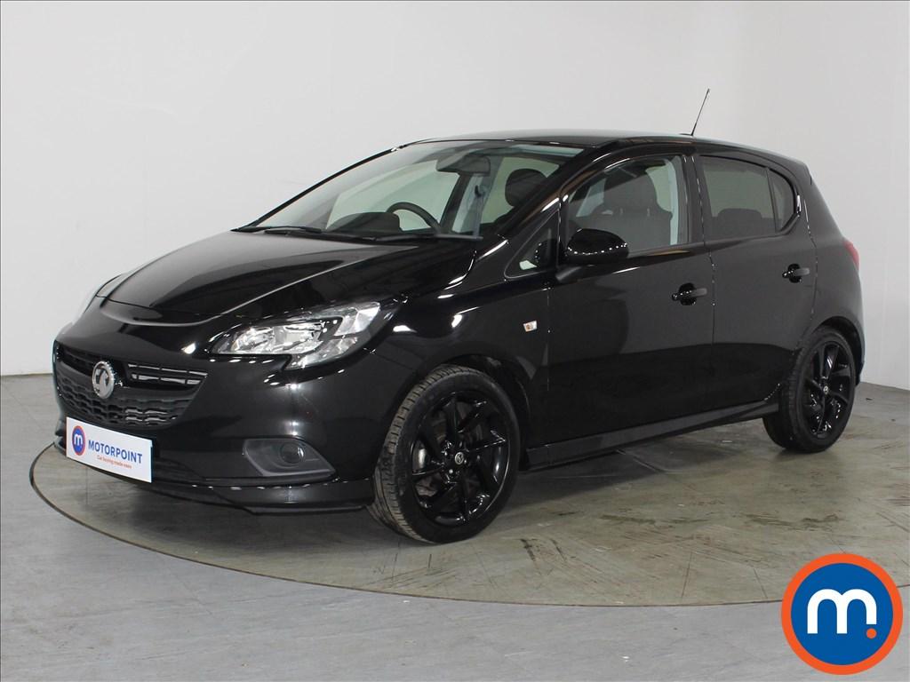 Vauxhall Corsa 1.4 SRi Vx-line Nav Black 5dr - Stock Number 1132261 Passenger side front corner