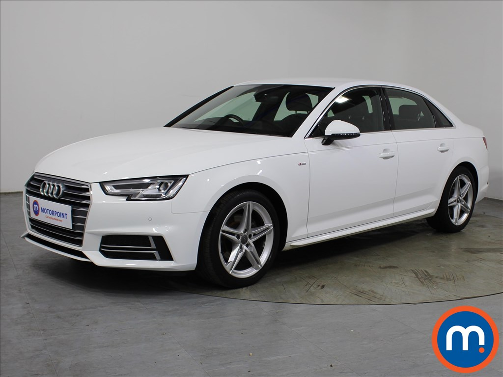 Audi A4 1.4T FSI S Line 4dr S Tronic [Leather-Alc] - Stock Number 1131074 Passenger side front corner