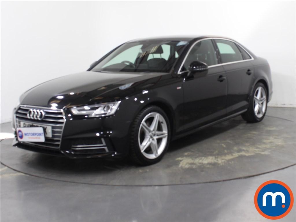 Audi A4 S Line - Stock Number 1135259 Passenger side front corner