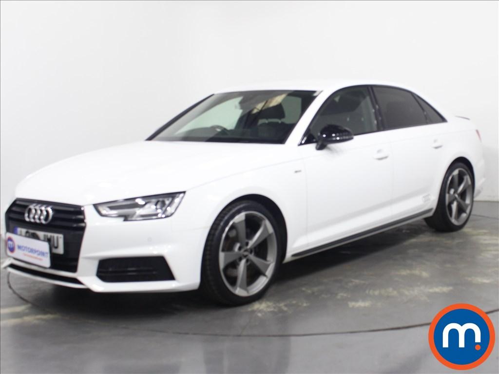 Audi A4 Black Edition - Stock Number 1132546 Passenger side front corner