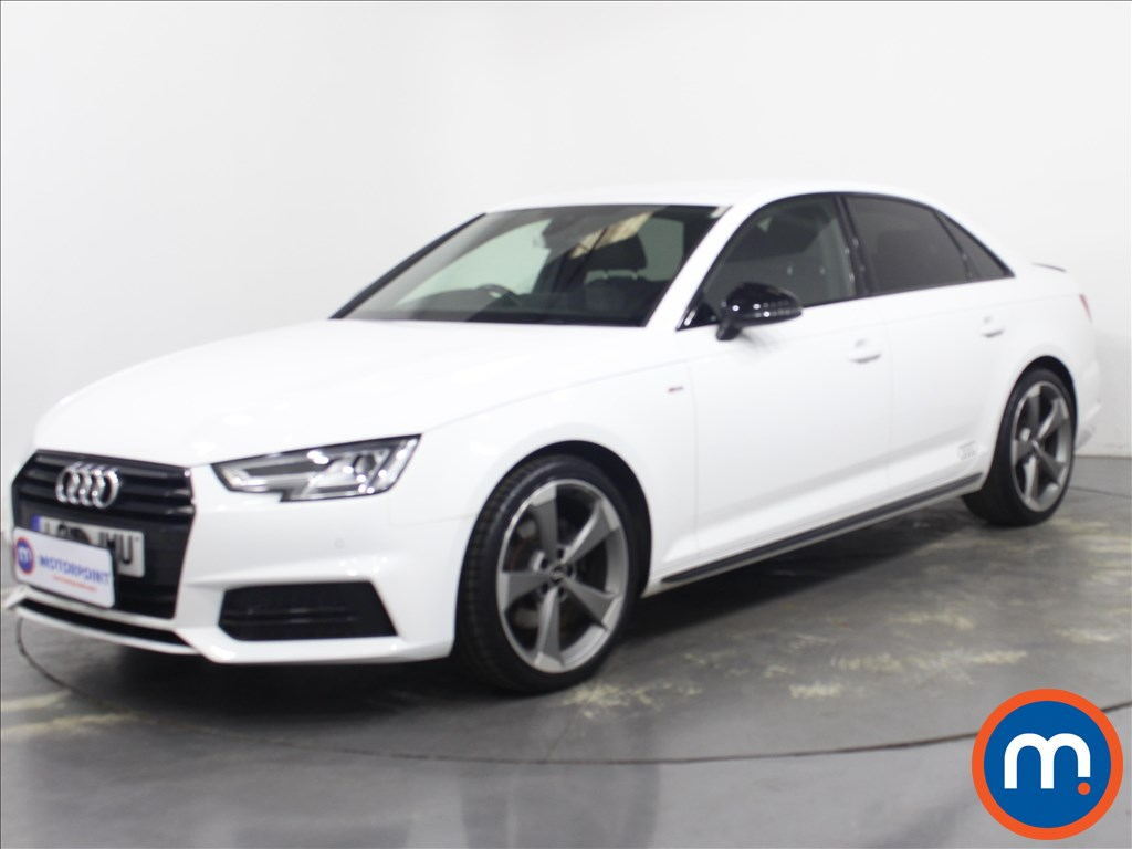 Audi A4 Black Edition - Stock Number 1132546 Passenger side front corner