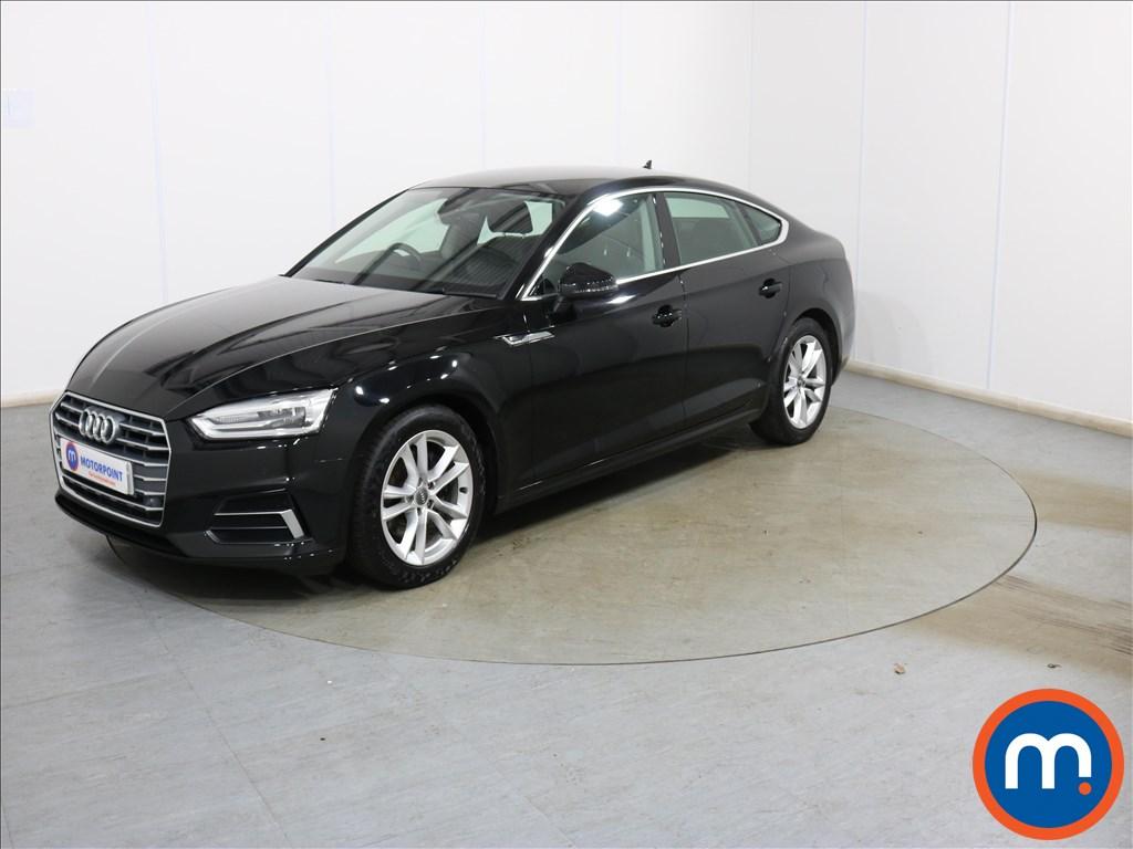 Audi A5 Sport - Stock Number 1134030 Passenger side front corner