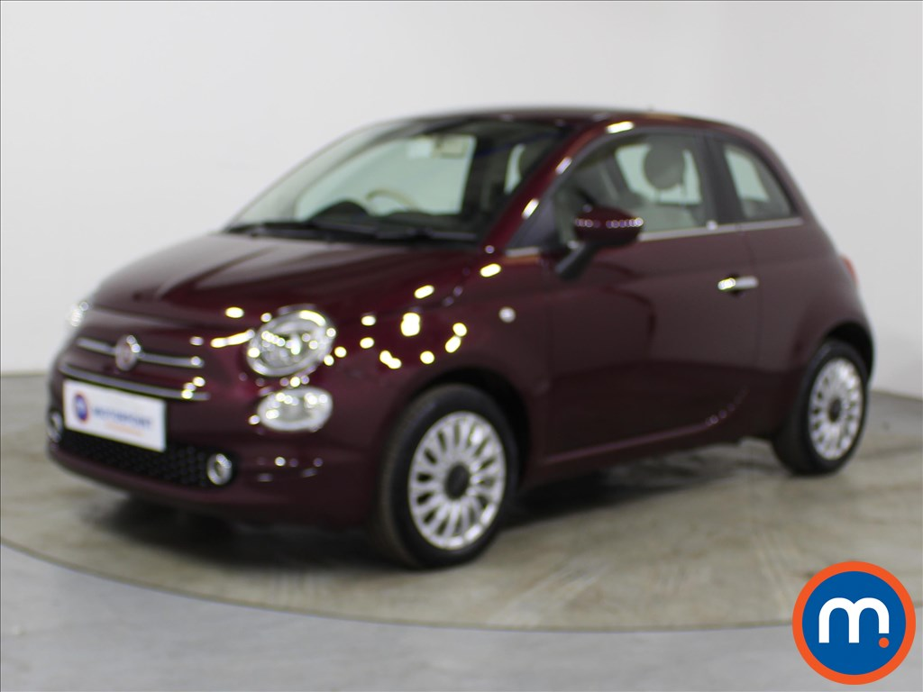 Fiat 500 Lounge - Stock Number 1132670 Passenger side front corner