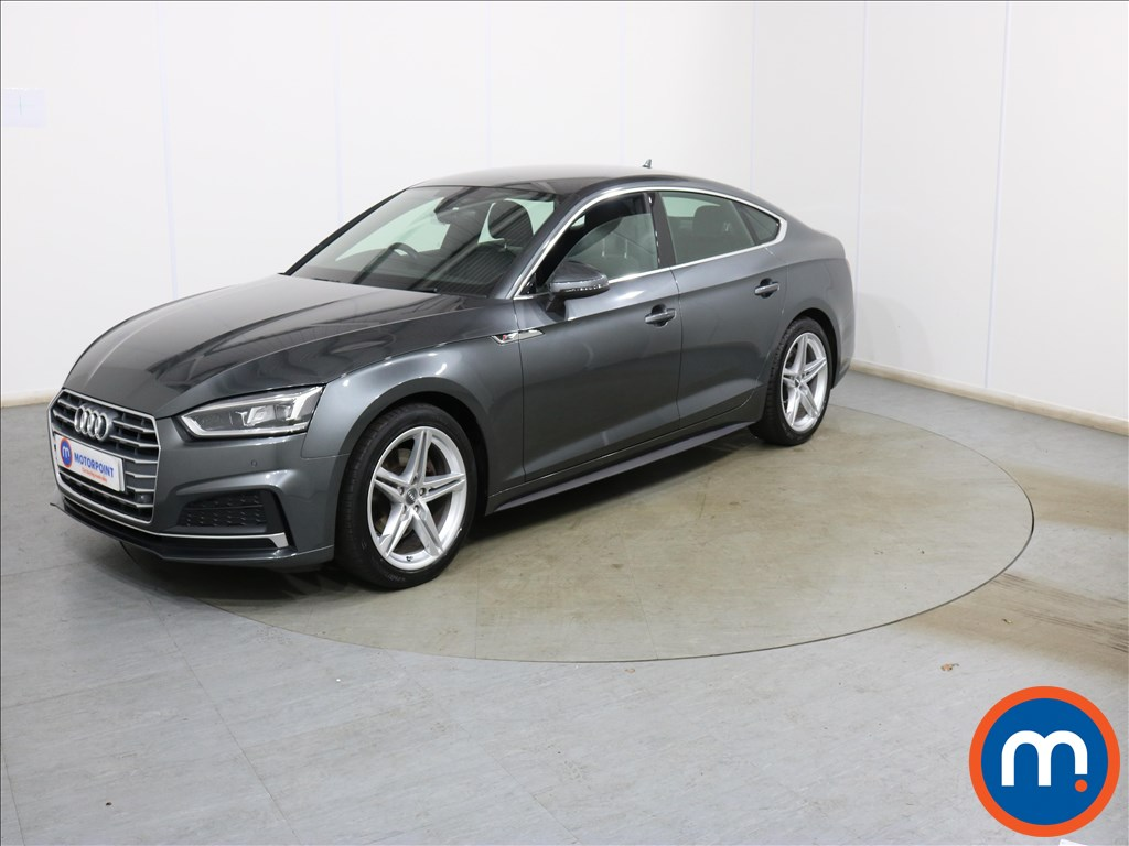 Audi A5 1.4 TFSI S Line 5dr S Tronic - Stock Number 1137232 Passenger side front corner