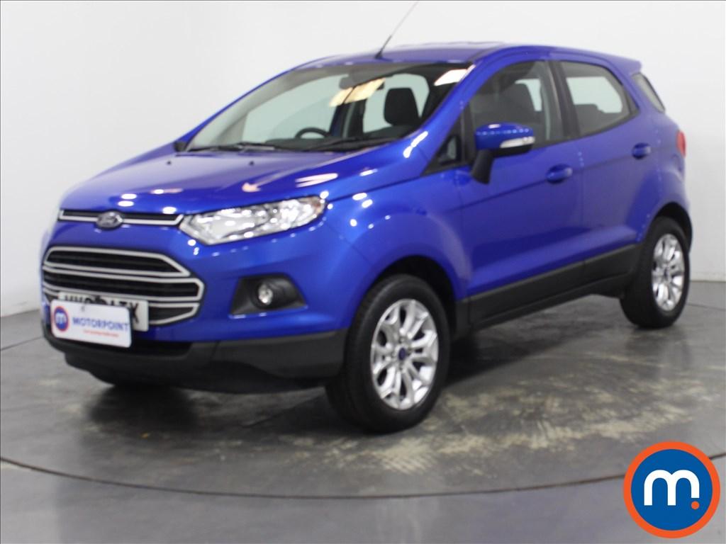Ford Ecosport Zetec - Stock Number 1134087 Passenger side front corner